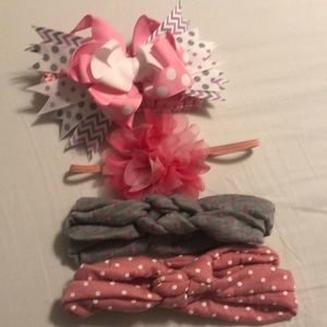 Other - Lot of baby girl headbands.